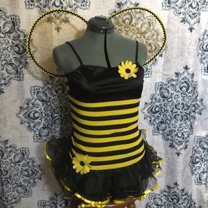 Other - bumblebee costume with wings and antenna